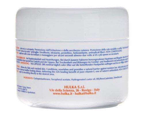 Ingrediente de la crema Vea Lipogel