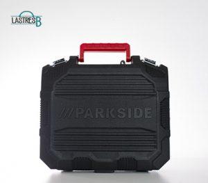 maletín del taladro del lidl de la marca parkside
