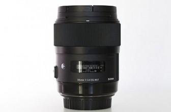 Sigma 35 mm 1,4 ART Review y opinión